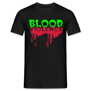 Blood Violence - Men's T-Shirt