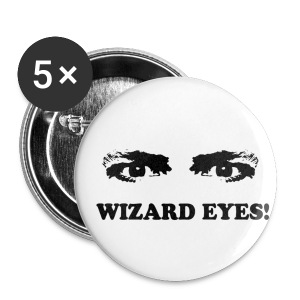 WIZARD EYES - Buttons medium 32 mm