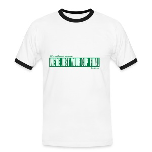 WE'RE NOT FAMOUS ANYMORE - Men's Ringer Shirt