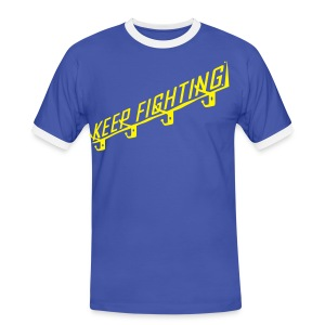 KEEP FIGHTING - DONS DRESSING ROOM SIGN - Men's Ringer Shirt