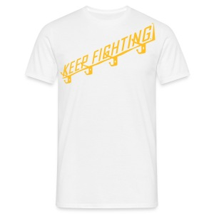 KEEP FIGHTING - DONS DRESSING ROOM SIGN - Men's T-Shirt