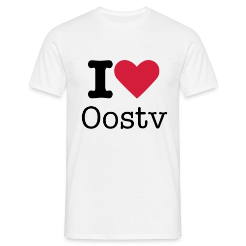 Oostv [Love] - Mannen T-shirt