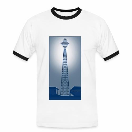 VINTAGE FLOODLIGHT - EVENING - Men's Ringer Shirt