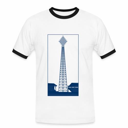 VINTAGE FLOODLIGHT - DAY - Men's Ringer Shirt