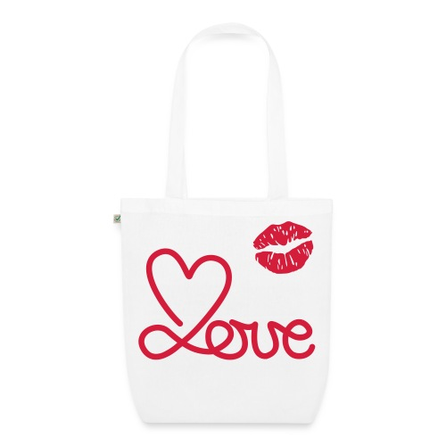 kiss - EarthPositive Tote Bag
