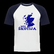 T-Shirts ~ Men's Baseball T-Shirt ~ Mes Skotija