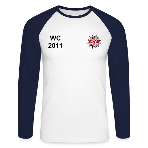 WC 2011 Long Sleeved T - Men's Long Sleeve Baseball T-Shirt