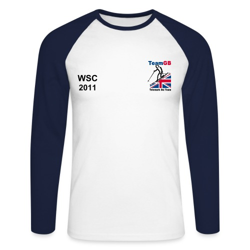 World Champs 2011 GBR Long Sleeved - Men's Long Sleeve Baseball T-Shirt