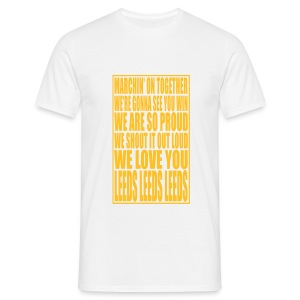 MARCHING ON TOGETHER CHORUS - Men's T-Shirt