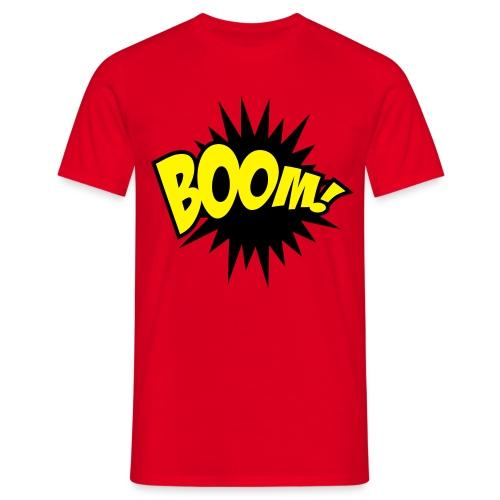 Boom! - T-skjorte for menn