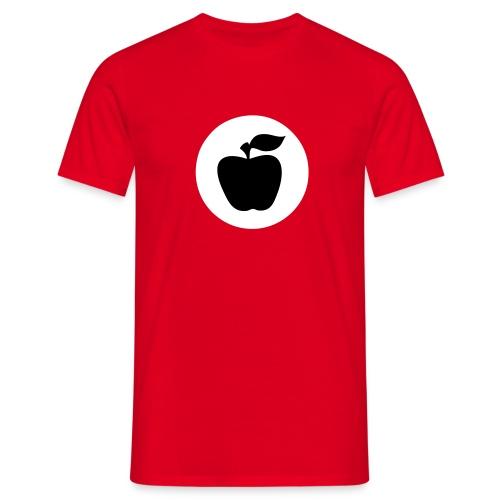 T-Hemd Apfelfront - Männer T-Shirt