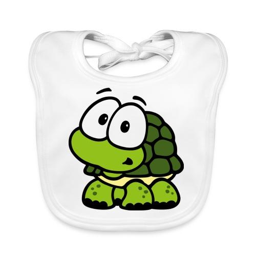 Schildkröte - Baby Bio-Lätzchen