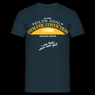 T-shirts ~ Mannen T-shirt ~ Dyslexic Convention '88