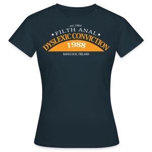 Dyslexic Convention '88 Ladies T shirt - Vrouwen T-shirt