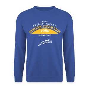 Dyslexic Convention '88 Sweater - Mannen sweater
