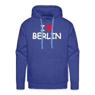 Pullover & Hoodies ~ Männer Premium Kapuzenpullover ~ I love Berlin Kaputzenpullover