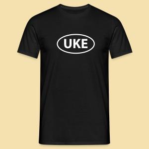 Menshirt: UKE shirt (white) - Männer T-Shirt