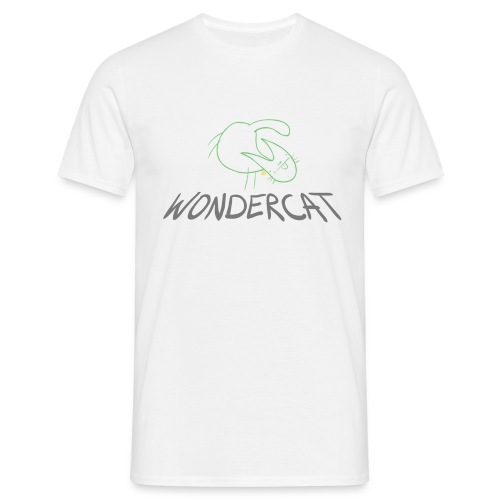 Wonder Cat - Men's T-Shirt