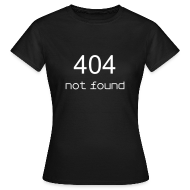 T-shirts ~ Vrouwen T-shirt ~ 404 not found