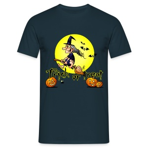 Halloween, Trick or treat - Mannen T-shirt