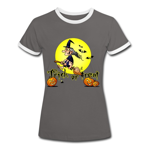 Halloween, Trick or treat - Women's Ringer T-Shirt