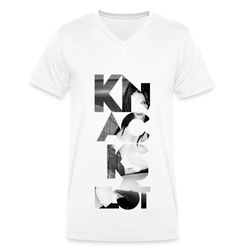 Knackselot-VNECK - Männer Bio-T-Shirt mit V-Ausschnitt von Stanley & Stella