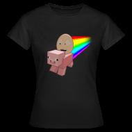 T-Shirts ~ Women's T-Shirt ~ Nyan Pig - Ladies T-Shirt