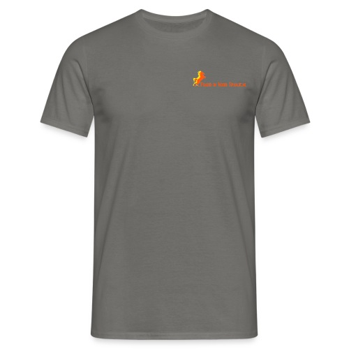 Mannen TShirt Grijs - Mannen T-shirt