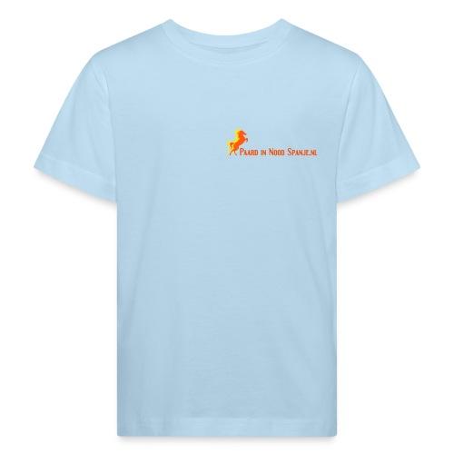 Kinder TShirt Blauw - Kinderen Bio-T-shirt
