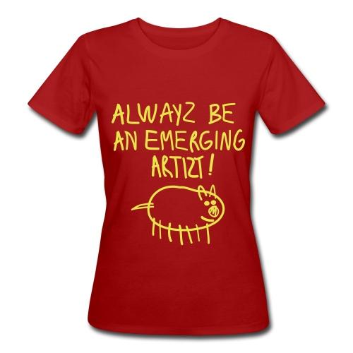 Emerging Artizt - T-shirt ecologica da donna