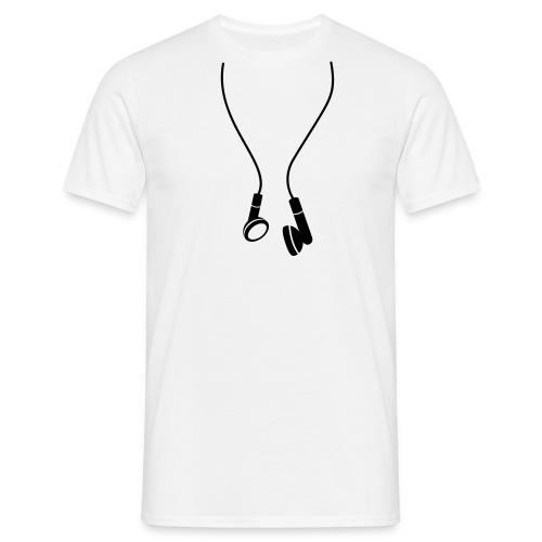 Cuffie - Maglietta da uomo