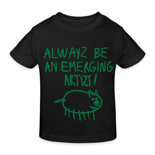 Emerging Artizt - Maglietta ecologica per bambini