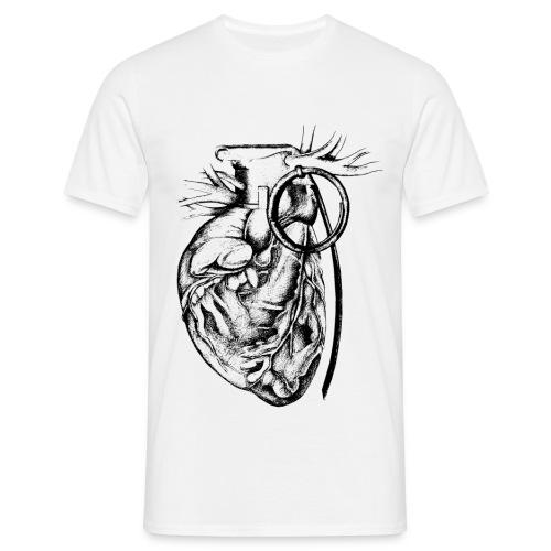Heartbomb - Maglietta da uomo
