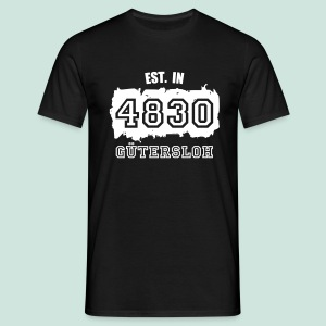 Established in 4830 Gütersloh - Männer T-Shirt