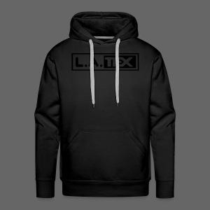 L.A.TEX Black on black - Männer Premium Hoodie