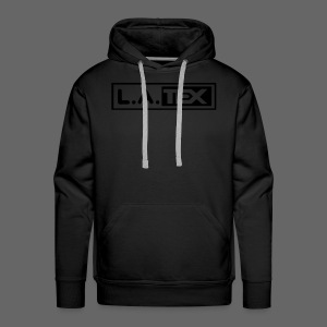 L.A.TEX Black on black - Männer Premium Hoodie