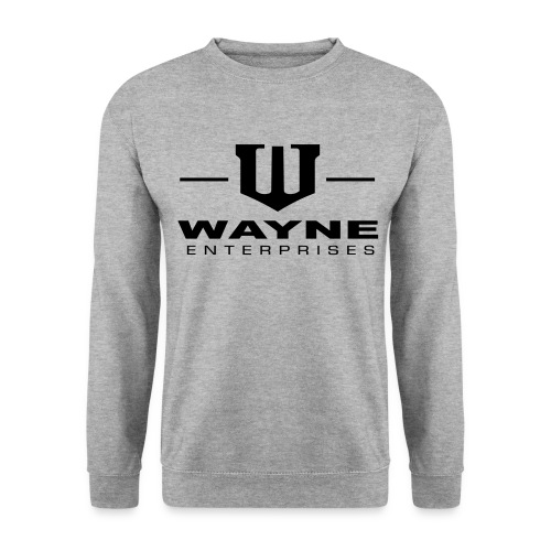 Wayne Enterprises [white-black] - Männer Pullover