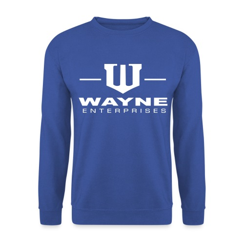 Wayne Enterprises [blue-white] - Männer Pullover