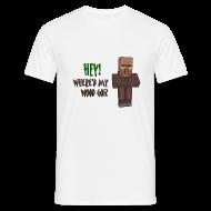 T-Shirts ~ Men's T-Shirt ~ Where'd my wood go!?  Mens shirt