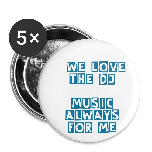 Music Button - Buttons groot 56 mm