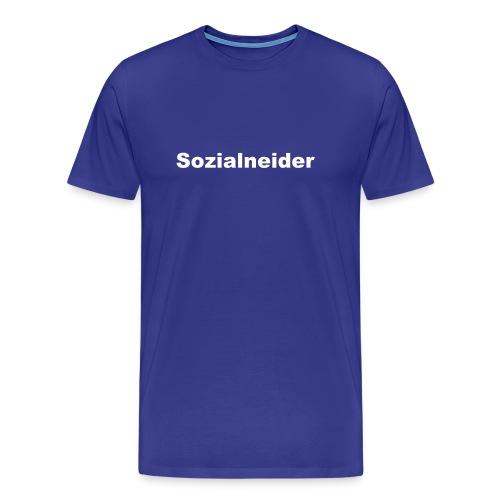 Sozialneider - Männer Premium T-Shirt