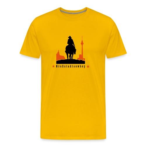 Berliner Großstadtcowboy - Männer Premium T-Shirt