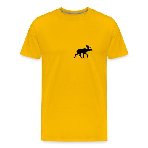 Elch - Männer Premium T-Shirt