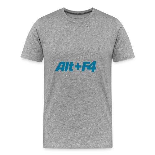 Computer-Shirt Alt+F4 - Männer Premium T-Shirt
