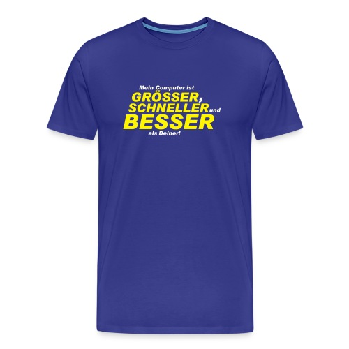 Tshirt - Computer - Männer Premium T-Shirt