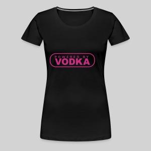 beauty black VODKA - Frauen Premium T-Shirt