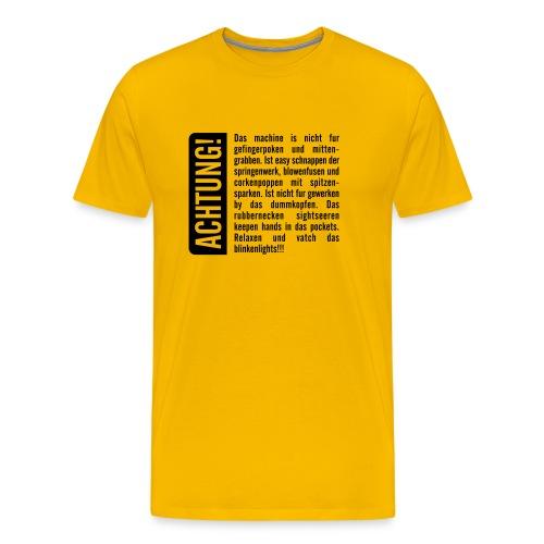 gnelf.de shirt - Männer Premium T-Shirt