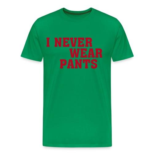 T-Skirt Never wear...II - Männer Premium T-Shirt