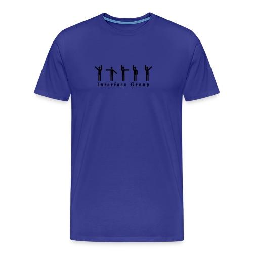 IGROUP Shirt blue2 - Männer Premium T-Shirt