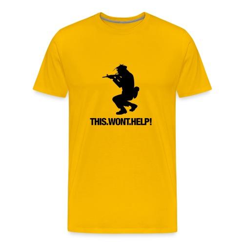 THIS-WONT.HELP! - Männer Premium T-Shirt
